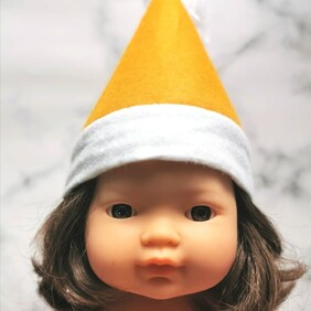 Christmas Hats for 38cm Miniland Doll