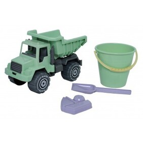 I AM GREEN Sand Set with Tipper Truck