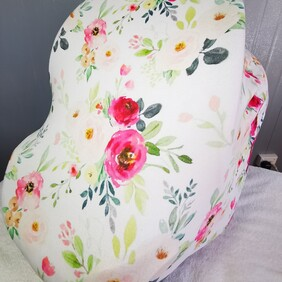 Floral Multi-use Baby Capsule Cover